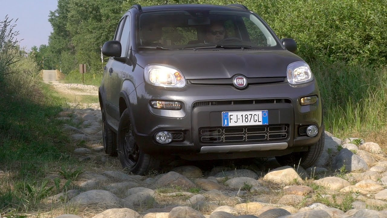 2017 fiat panda 4x4 youtube. Black Bedroom Furniture Sets. Home Design Ideas