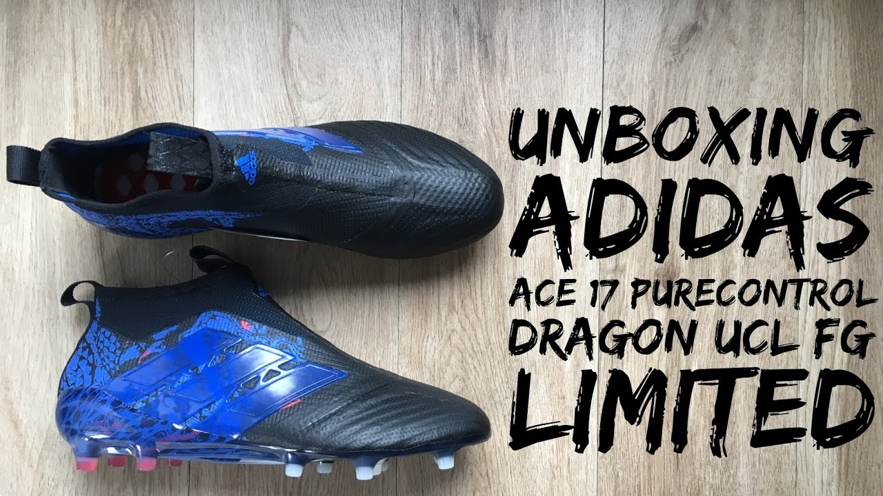 6682e6e141e03 Adidas ACE 17+ PURECONTROL Dragon UCL FG