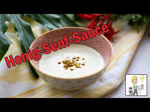 Honig Senf Sauce Salat Dressing Mit Dem Thermomix Youtube