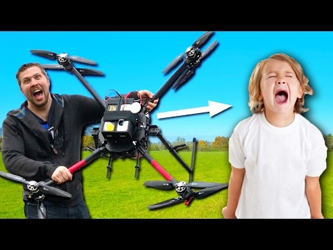 Thumbnail: This $15,000 Drone Could Drop Test Your Annoying 8-Year-Old Brother!!