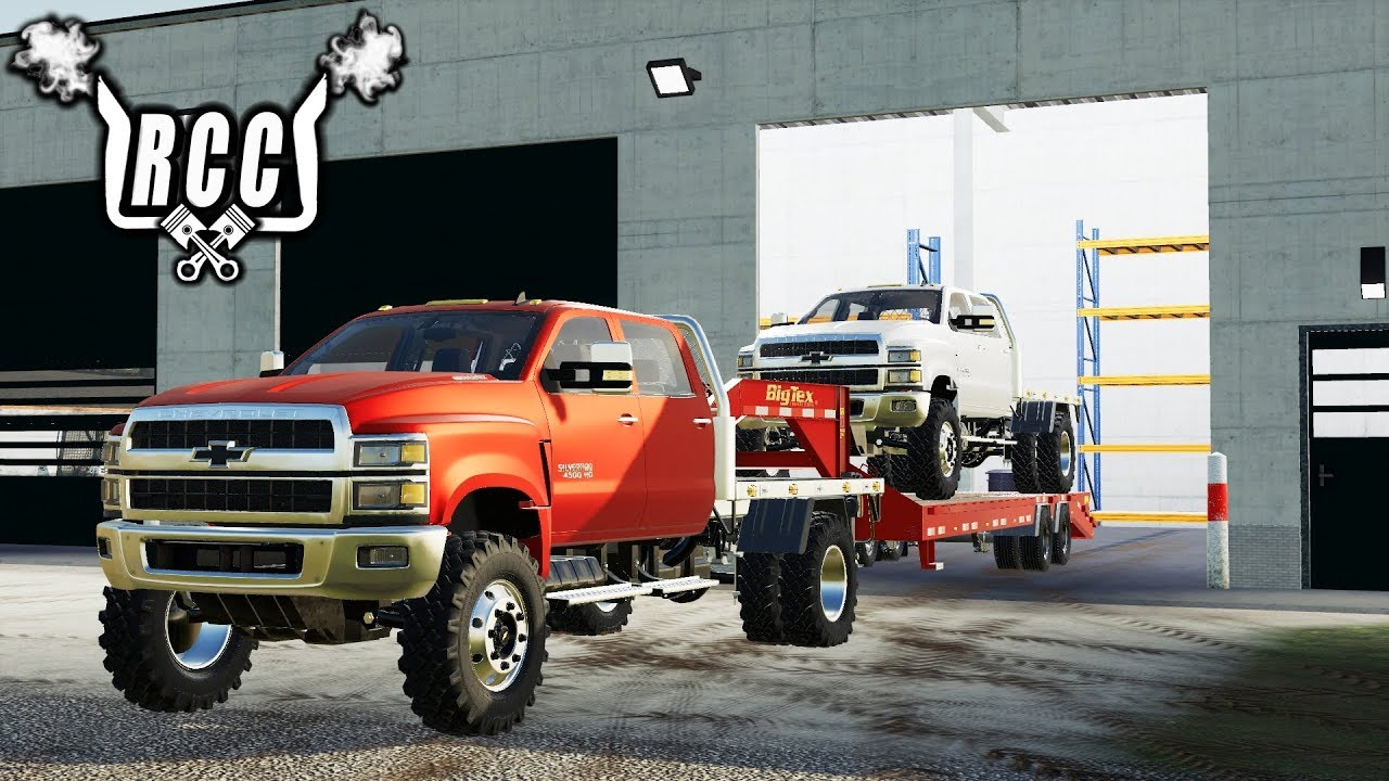 FS19- FIRST ONE OUT OF THE FACTORY- 2019 CHEVY 4500HD ...