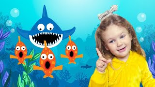 Baby Shark | Kids Song and Nursery Rhymes Sing and Dance | Animal Songs with Kids Liza