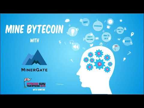 How To: Mine Bytecoin [BCN] With Minergate // Bytecoin Guru