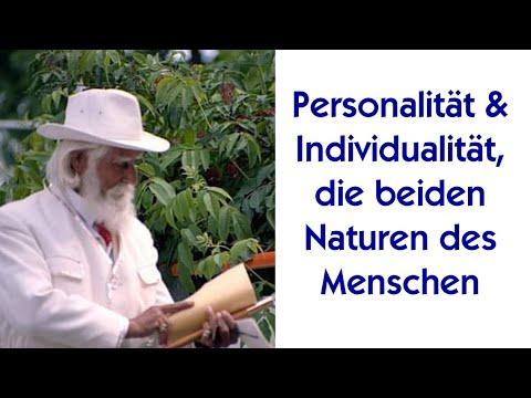 Personalität und Individualität, die beiden Naturen des Menschen