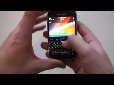 Test: Blackberry Bold 9900 im Videoreview