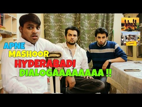 Funny and Famous Hyderabadi Dialogues l Hyderabadi Comedy l The Baigan Vines