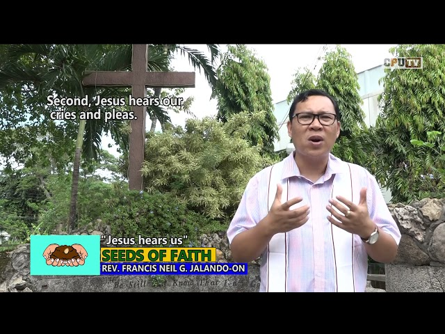 SOF 153 Jesus hears us