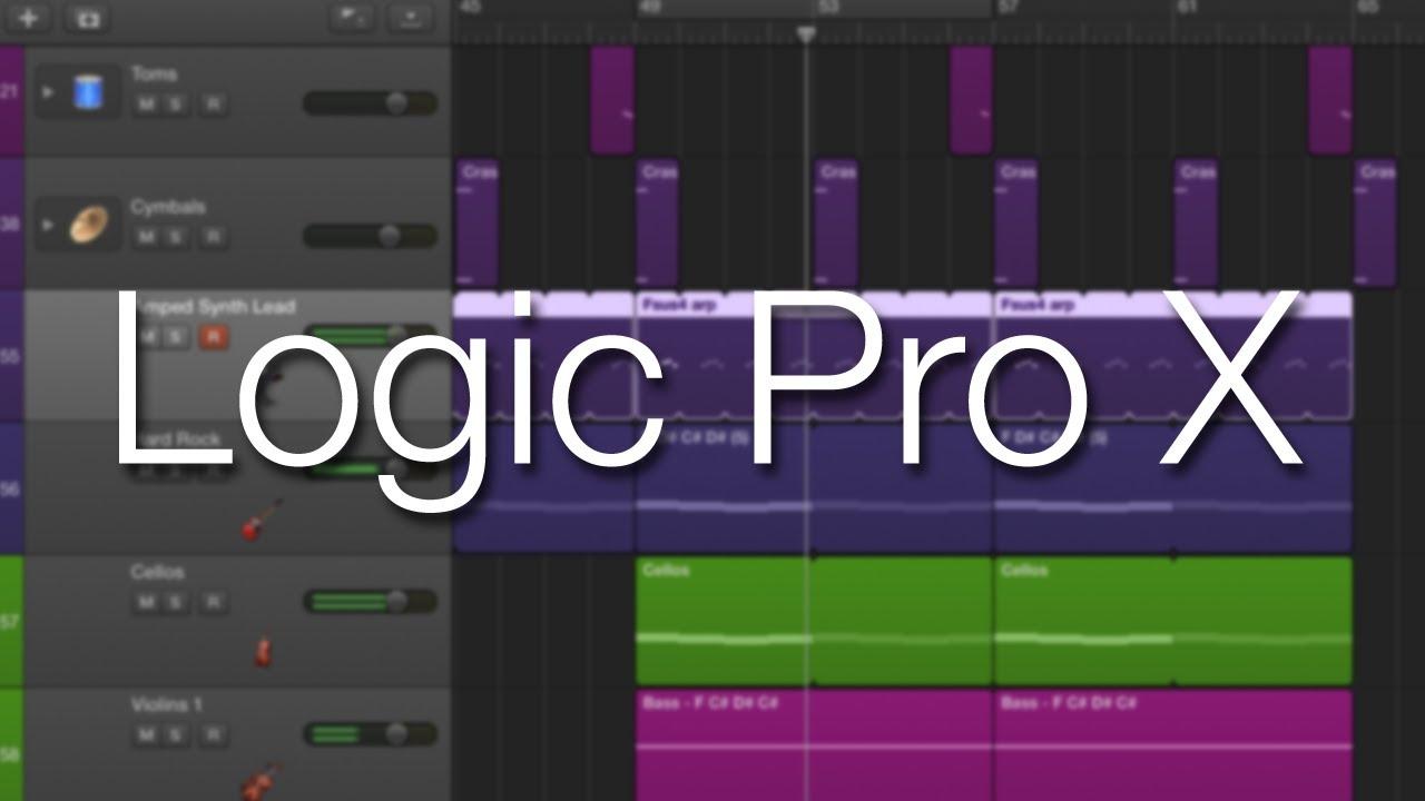 A Demo of Logic Pro X