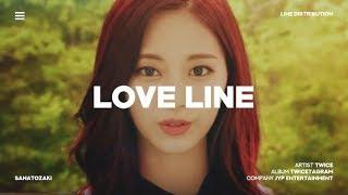 Download TWICE (트와이스) - Love Line   Line Distribution Mp3