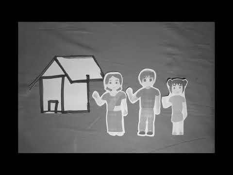 Jack & Jill Black/White Stop Motion Short Film