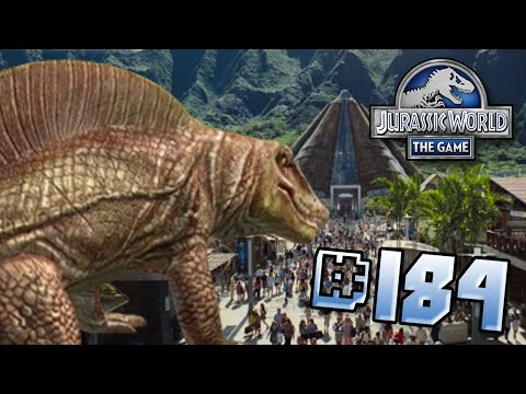 SECODONTOSAURUS ARRIVES!  || Jurassic World - The Game - Ep184 HD