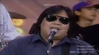 Bodjie Dasig Live 1992 Please Listen
