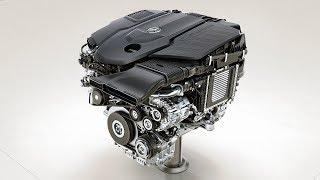New six-cylinder petrol engine M 256