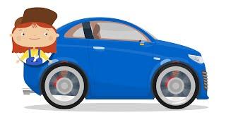 Доктор Машинкова - Агрессивное вождение - Авария | Мультики про автосервис и машинки для детей