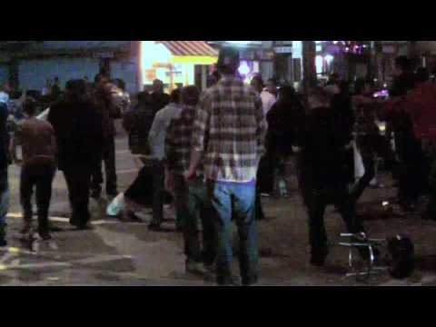 Massive Fight on Broadway Street SF July 04, 2010 HD.mov