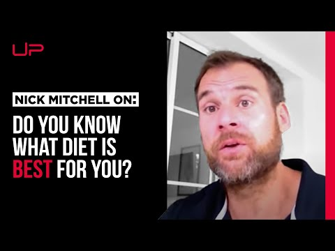 Choosing the right diet FOR YOU