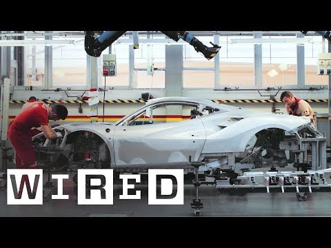70 Years of Ferrari: How Craftsmen and High-Tech Robots Build the World's Most Famous Cars | WIRED