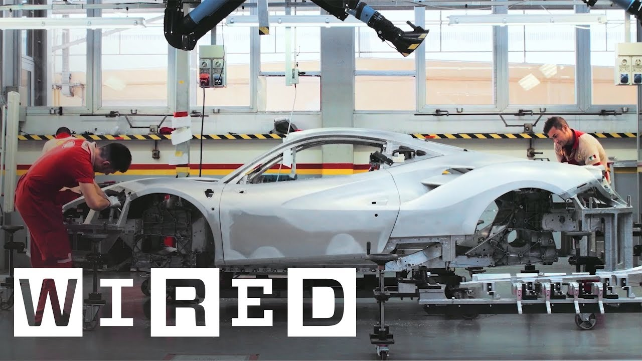 70 Years of Ferrari: How Craftsmen and High-Tech Robots Build the ...