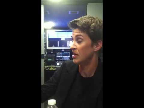 Exclusive: Rachel Maddow interview
