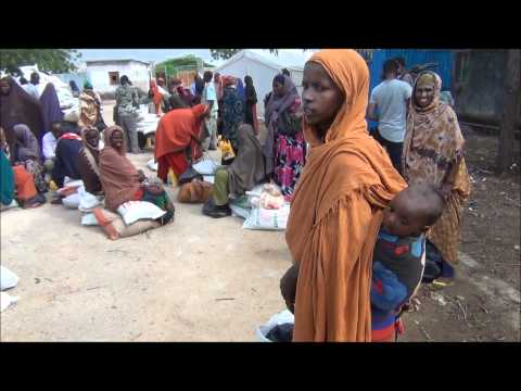 East Africa Crisis: Emergency food distribution in Somalia