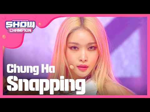 [Show Champion] 청하 - Snapping (CHUNG HA - Snapping) L EP.324