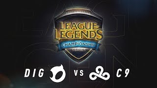 DIG vs. C9 - Day 1 Game 2 | NA LCS Summer Split Quarterfinals | Team Dignitas vs. Cloud9 (2017)