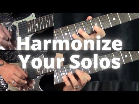 How To Harmonize Guitar