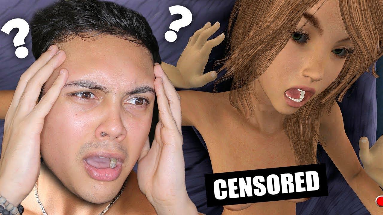 Dildo sex strap video