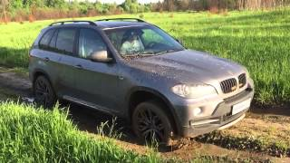 BMW X5 OFFROAD SLOW MOTION