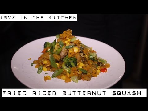 How to make Fried Riced Butternut Squash