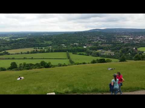 Views of Surrey from Boxhill