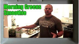 Morning Green Smoothie Recipe (Joe Rogan Inspired)