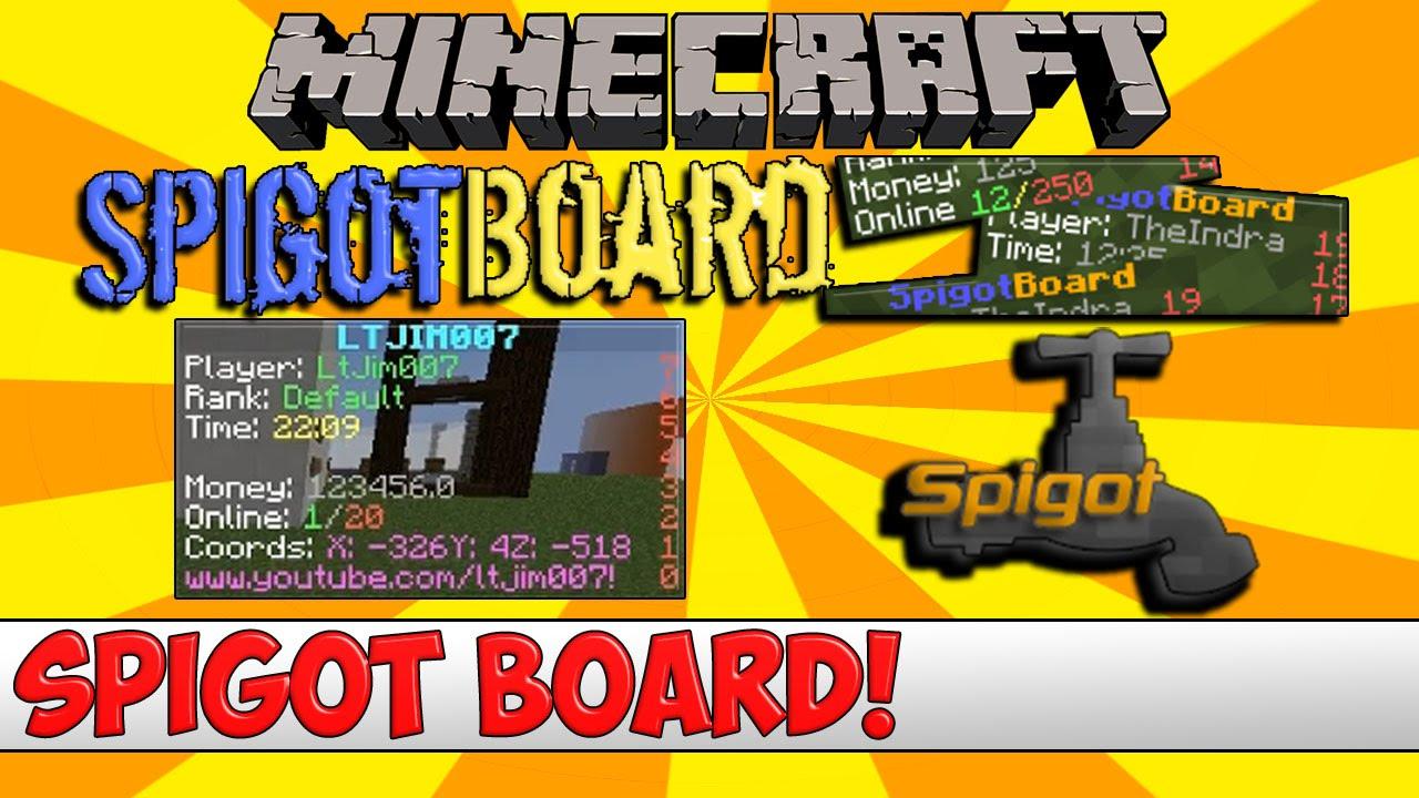 Minecraft Plugin Tutorial - Spigot Board
