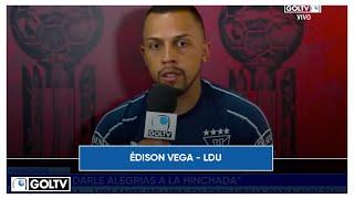 EDISON VEGA - EXCLUSIVA
