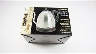 Up Close Look at the 1.0 Liter Bonavita Gooseneck Electric Kettle BV3825B