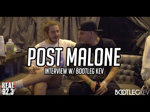 Post Malone Interview w/ Bootleg Kev