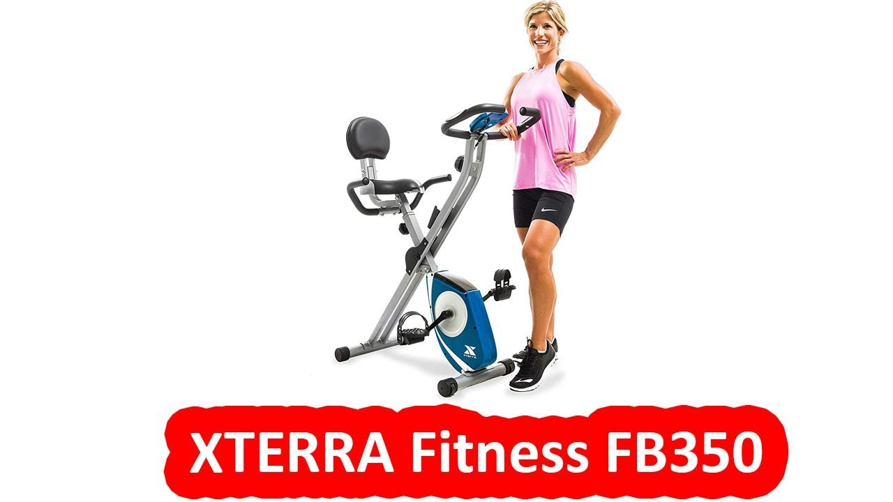 Xterra Fitness Fb350 Best Folding Exercise Bike Under 200 Youtube