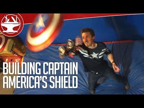 How Do You Make Captain America's Electromagnet Shield?