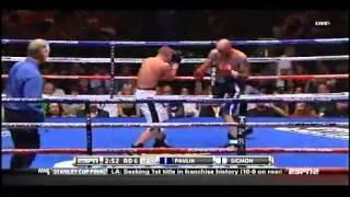 Kelly Pavlik vs Scott Sigmon 2012 06 08
