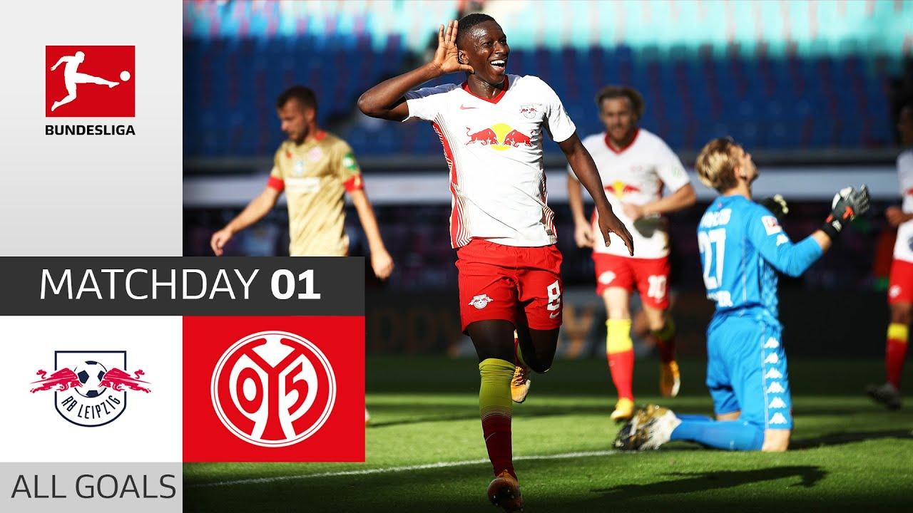 Rb Leipzig 1 Fsv Mainz 05 3 1 All Goals Matchday 1 Bundesliga 2020 21 Youtube