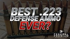 Best .223 Defense Ammo Ever? Federal 5.56mm 62gr FBIT3 Gel Test