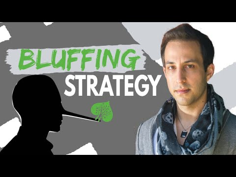 Bluffing Strategy In No Limit Hold'em