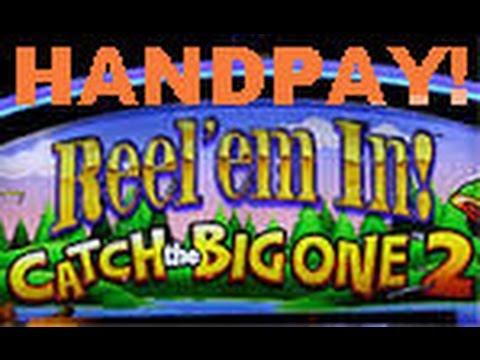 Big slot win max bet reel em in progressive win c for Reel em in fishing slot machine