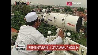 Jalannya Pantauan Hilal di Kembangan Utara Jakarta Barat - iNews Petang 24/06 2017 Video