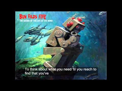 Erase me- Ben folds five Lyrics