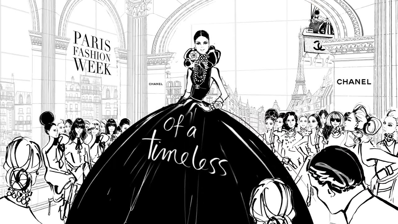 Coco Chanel The Illustrated World Of A Fashion Icon By Megan Hess Youtube