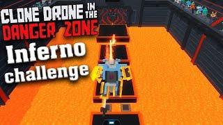Битва роботов Inferno challenge Clone Drone in the Danger Zone