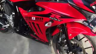 Modif simple GSX R150 Red