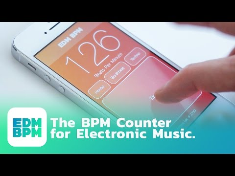 BPM TAP COUNTER APP for Electronic Dance Music | EDM BPM