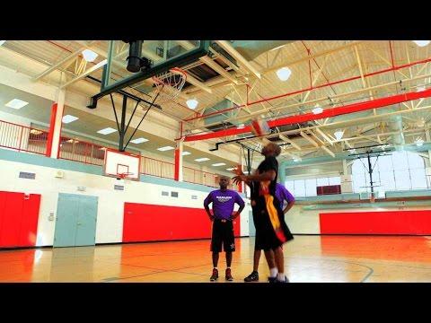 Cómo encestar con la cabeza | Baloncesto